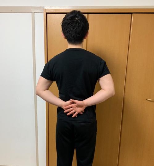 五十肩のチェック法3