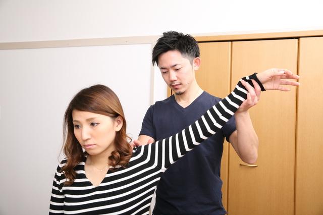 肩の検査 画像
