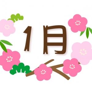 1月の休診日のお知らせ!